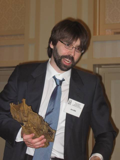 Joe Hill bei der Veleihung der Bram Stoker Awards 2006